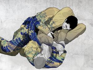 Brazilian Jiu Jitsu lotta a terra